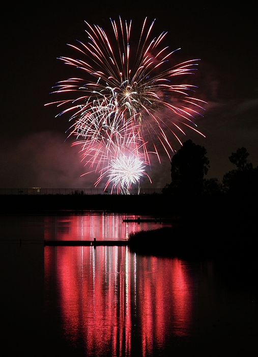 Fireworks Photograph - Remember by KC Moffatt