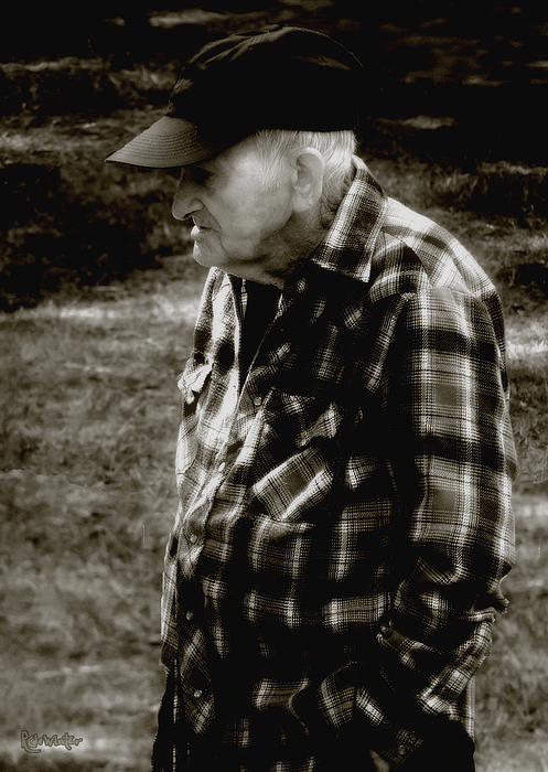 Farmer Photograph - Remembering Hard Times by RC DeWinter