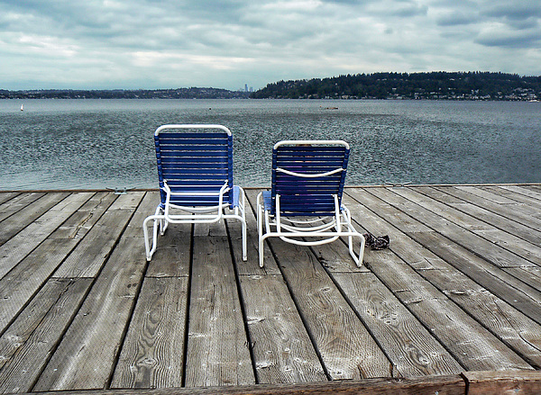 Landscape Photograph - Remembering Summer. by Anastasia Michaels