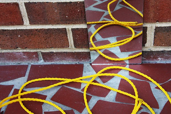 Brick Photograph - Reminds Me Of Ketchup And Mustard by Meg Andrews