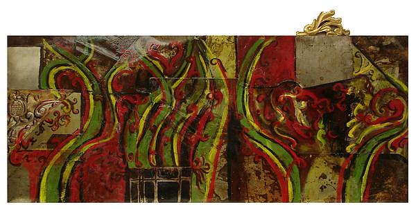 Reminiscencia Barroca Mixed Media by Ruben  Chuela