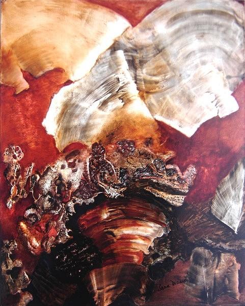 Abstract Painting - Remolino De Emociones by Sara  Diciero