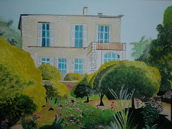 Renoirs Home Painting by Palma Poochigian