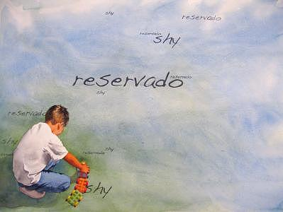 Reservado Painting by Israel Reza