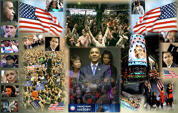 Barack Digital Art - Respectfully Yours..... Mr. President by Terry Wallace