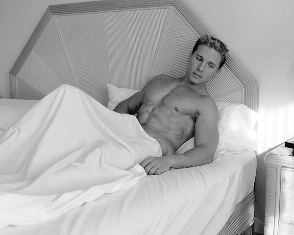 Male Photograph - Resting by Dan Nelson
