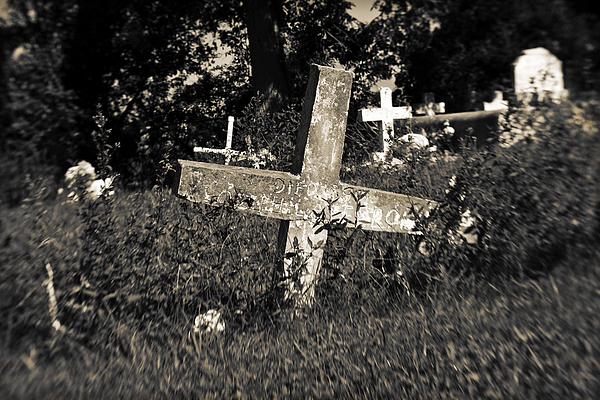 Cemetery Photograph - Resting by Scott Pellegrin