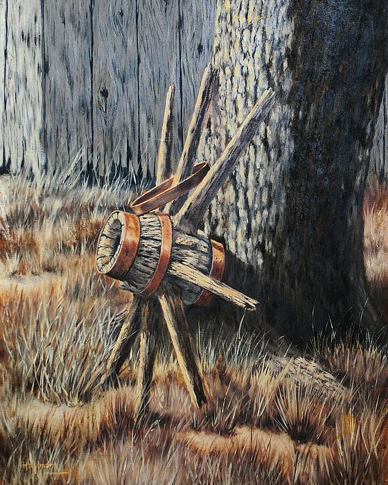 Bob Hallmark Painting - Retired by Bob Hallmark
