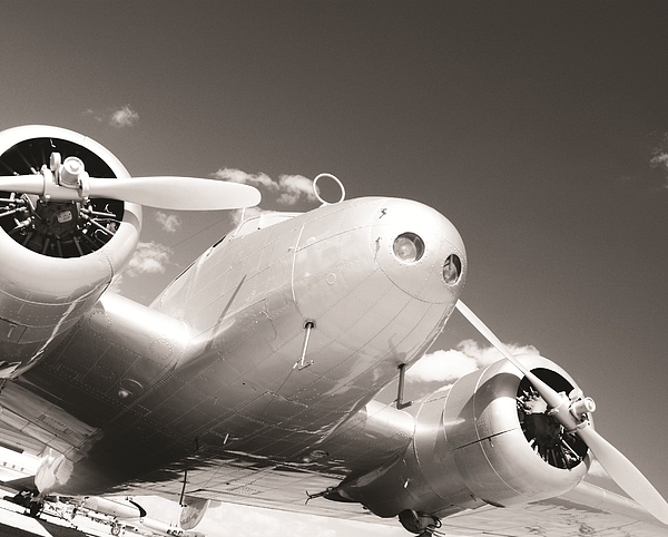 Aviation Photograph - Retired Electra by Marley Holman