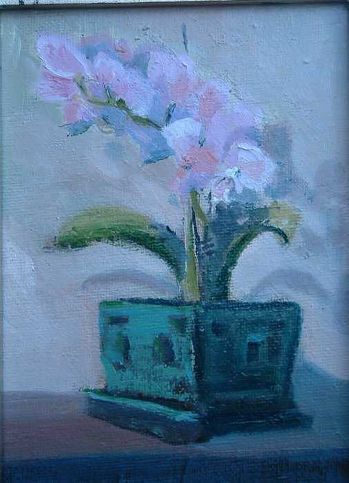 Retirement Orchid...sold Painting by Bryan Alexander