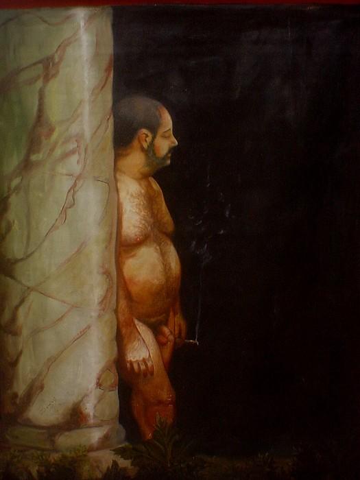 Nude Painting - Retrato by Besaleel