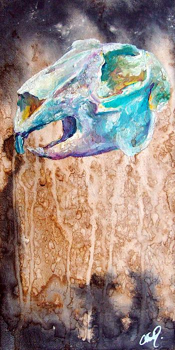 Rabbit Painting - Revolution Jack Rabbit by Christy  Freeman