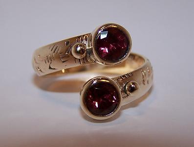 Rhodolite Garnet Ring Jewelry by Kimberly Stephenson