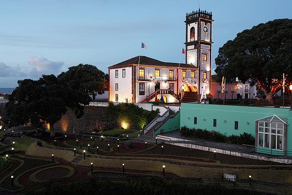 Azores Photograph - Ribeira Grande Town Hall by Gaspar Avila