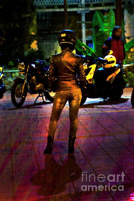 Female Photograph - Riding Companion II by Al Bourassa