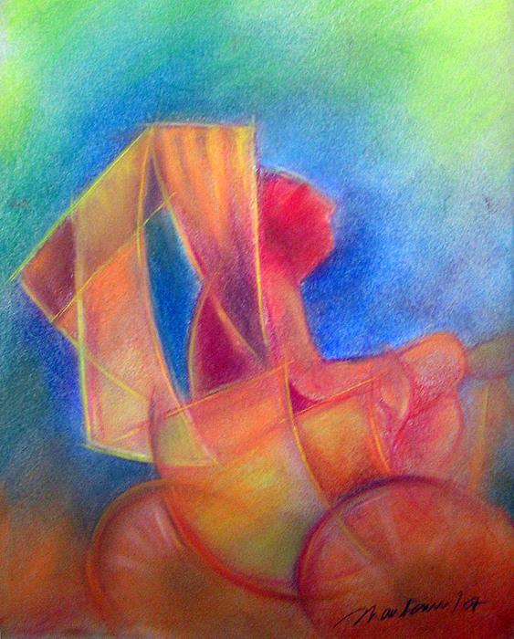 Rikshaw Painting by Shantanu Mitra