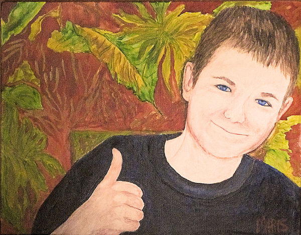 Boy Pastel - Riley by Maris Sherwood