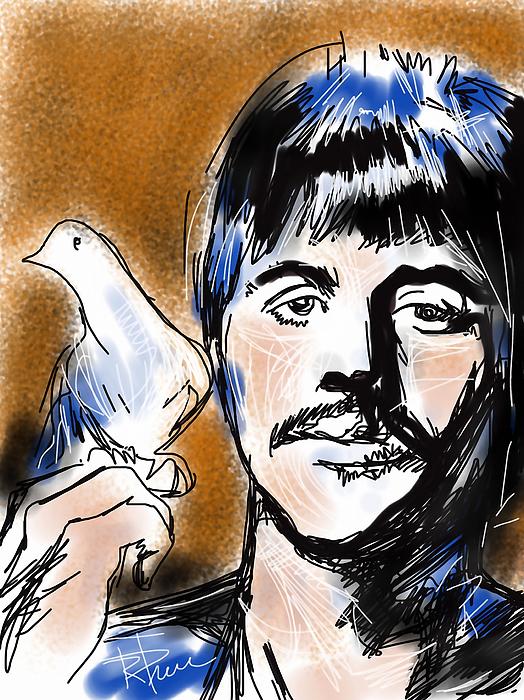 Ringo Digital Art - Ringo by Russell Pierce