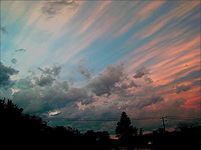 Sky Photograph - Rise by Richard  Hubal