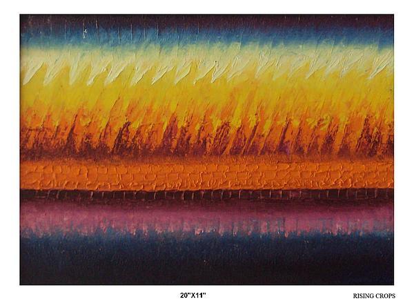 Rising Crops Painting by Sunita Chitara