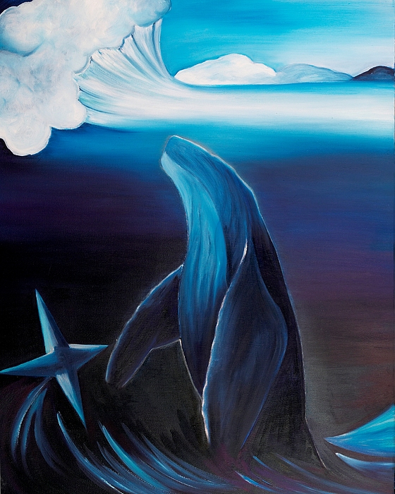 Rising Spirit Painting by Ara  Elena