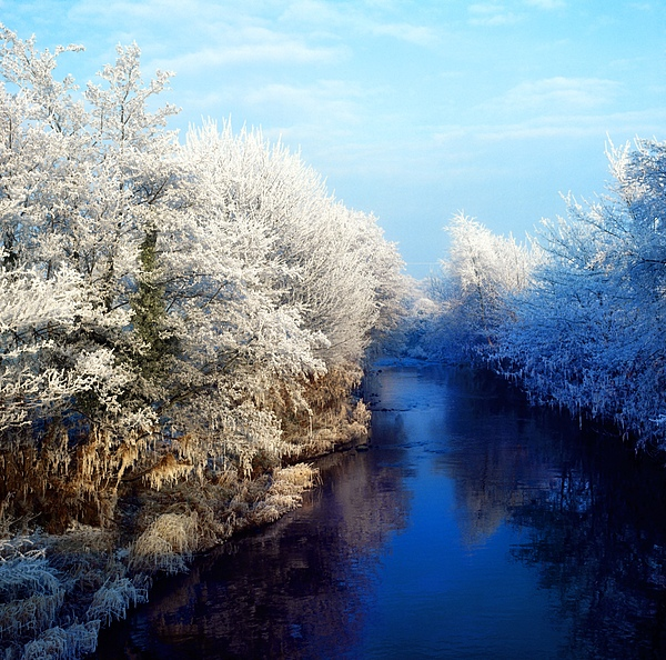 Beauty In Nature Photograph - River Bann, Co Armagh, Ireland by The Irish Image Collection
