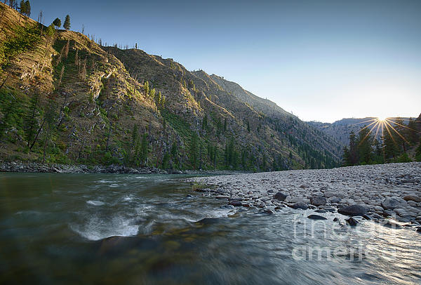 Arta Photograph - River Of No Return by Idaho Scenic Images Linda Lantzy
