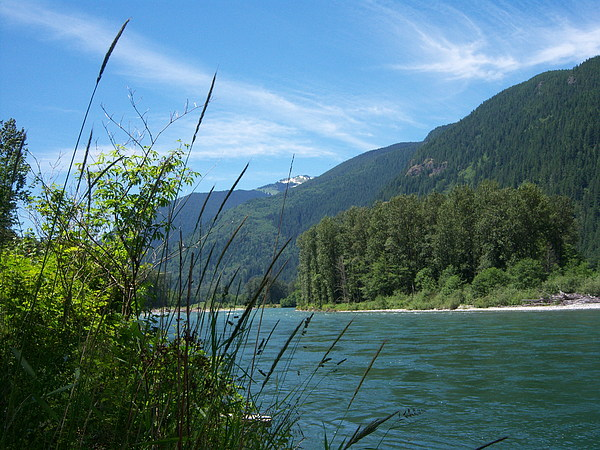 River Photograph - Rivers Edge by Ken Day