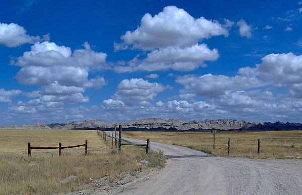 South Dakota Photograph - Road To The Badlands by Jimmy Poor