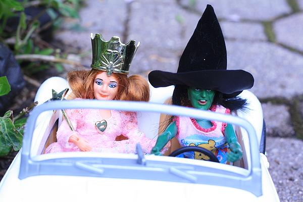 Wizard Of Oz Photograph - Road Trip by Susie DeZarn