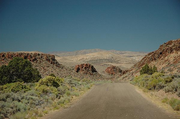 Scenic Photograph - Roadway To Peace by Lori Mellen-Pagliaro