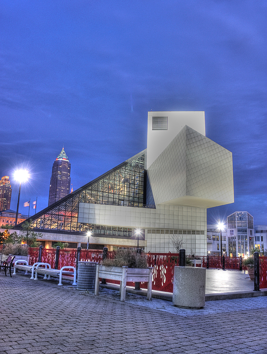 Rock And Roll Hall Of Fame Photograph - Rock And Rolling by David Bearden