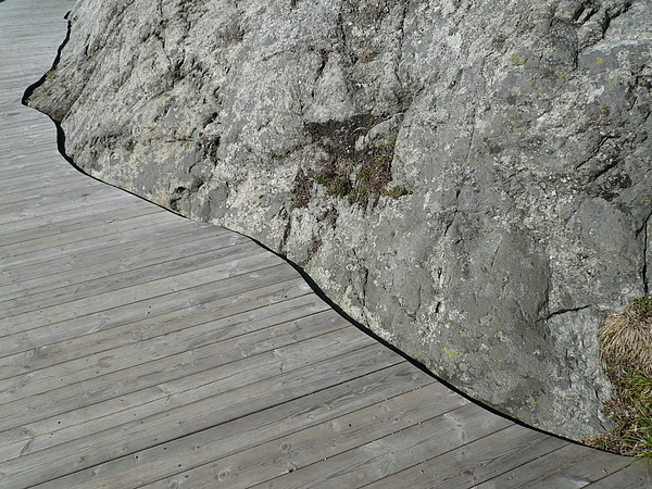 Rock Photograph - Rock Deck by Sean Welsby