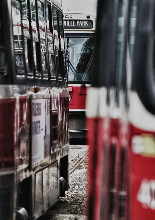 Bus Photograph - ...rockets... by Russell Styles
