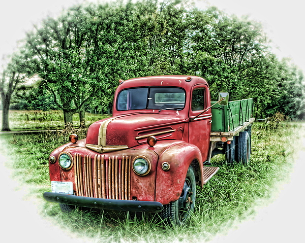 Old Truck Photograph - Rocks Old Truck by Pamela Baker
