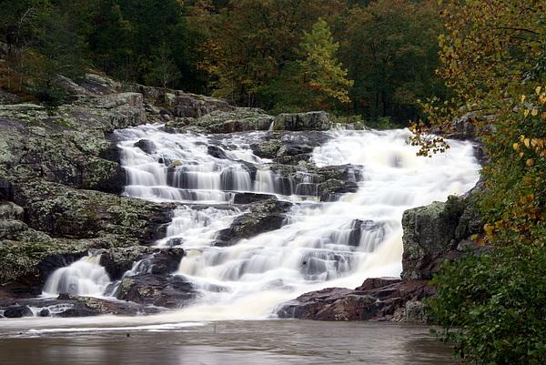 Ozarks Photograph - Rocky Falls by Marty Koch