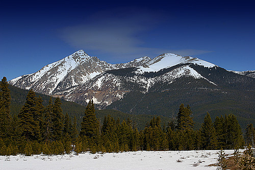 Rocky Mountains Photograph by Lawrence Staats