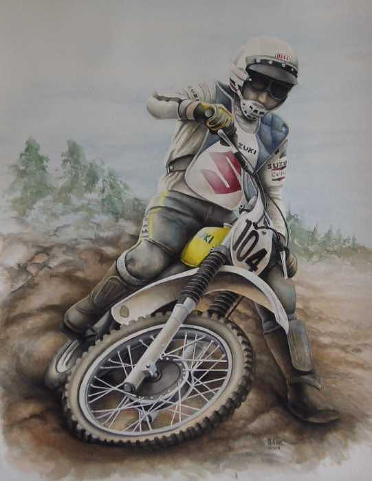 Rodger Decoster Painting by Harry Miller