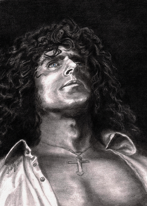 Roger Daltry Drawing - Roger Daltry by Kathleen Kelly Thompson