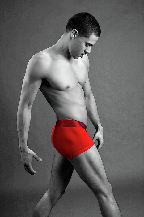 Male Photograph - Roja by Dan Nelson