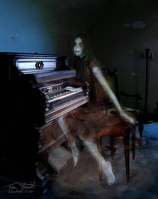 Paranormal Photograph - Rolling Hills Organ by Tom Straub