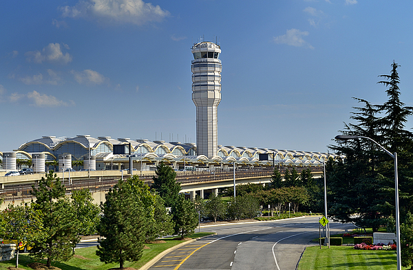 Ronal Photograph - Ronald Reagan National Airport by Brendan Reals