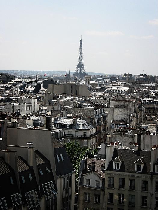 Eiffel Photograph - Roofs Of Paris. France by Bernard Jaubert