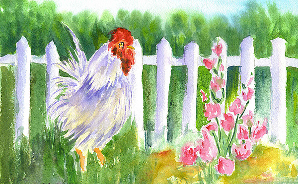 Rooster Painting - Rooster 05 by Ruth Bevan