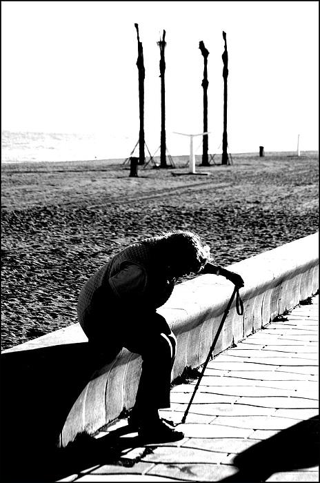 Photographer Photograph - Roquettas 35 by Jez C Self