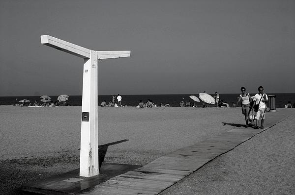 Photographer Photograph - Roquettas 86 by Jez C Self