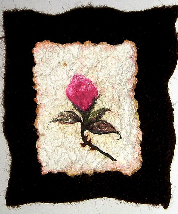 Roses Painting - Rose Bud by Gale Bellew