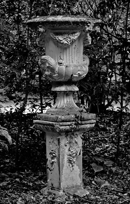 Urn Digital Art - Rose Urn by DigiArt Diaries by Vicky B Fuller
