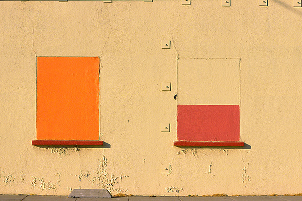 Oakland Photograph - Rothko Wall Oakland by Art Ferrier