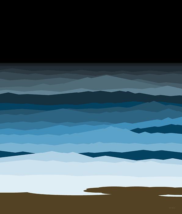 Rough Seas Digital Art - Rough Seas by Val Arie